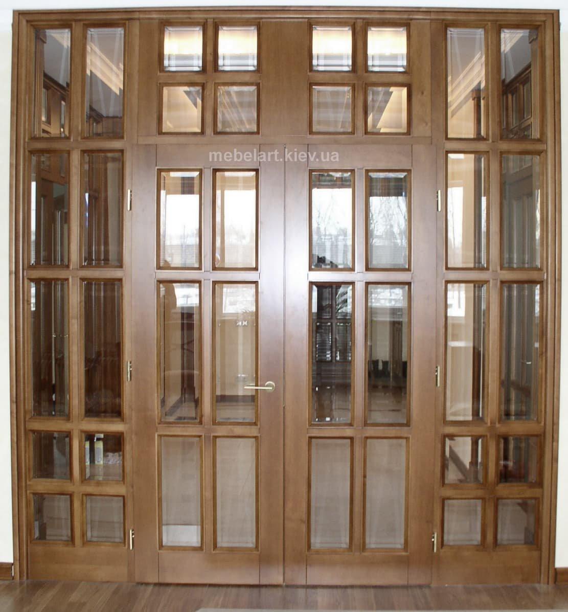 двери с граненым стеклом