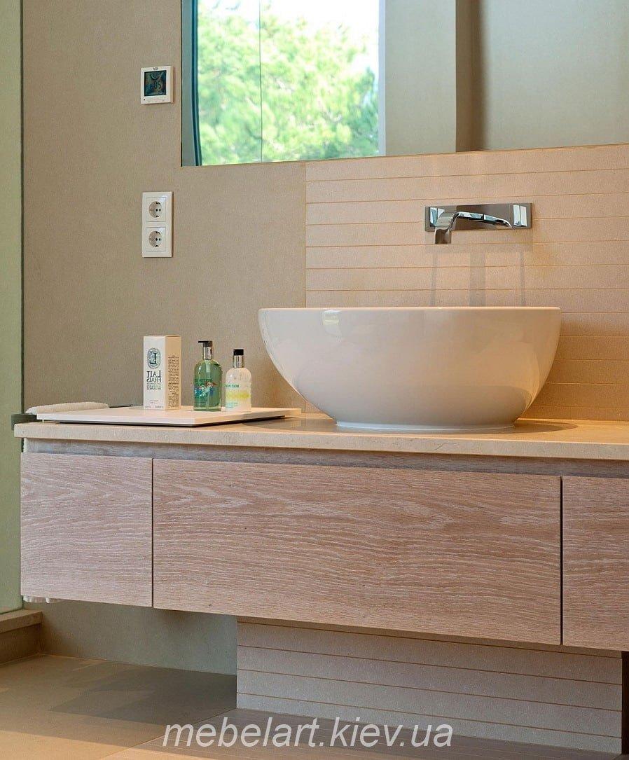 мебель в ванную на два умывальника