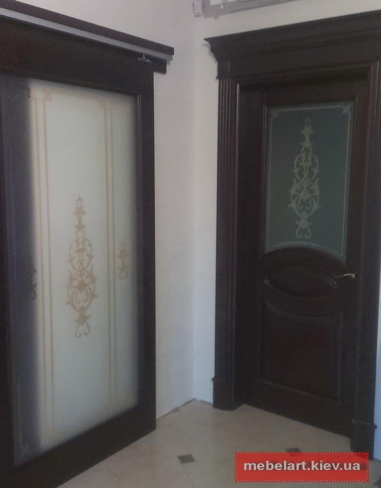 Двери из дуба под заказ в Киеве