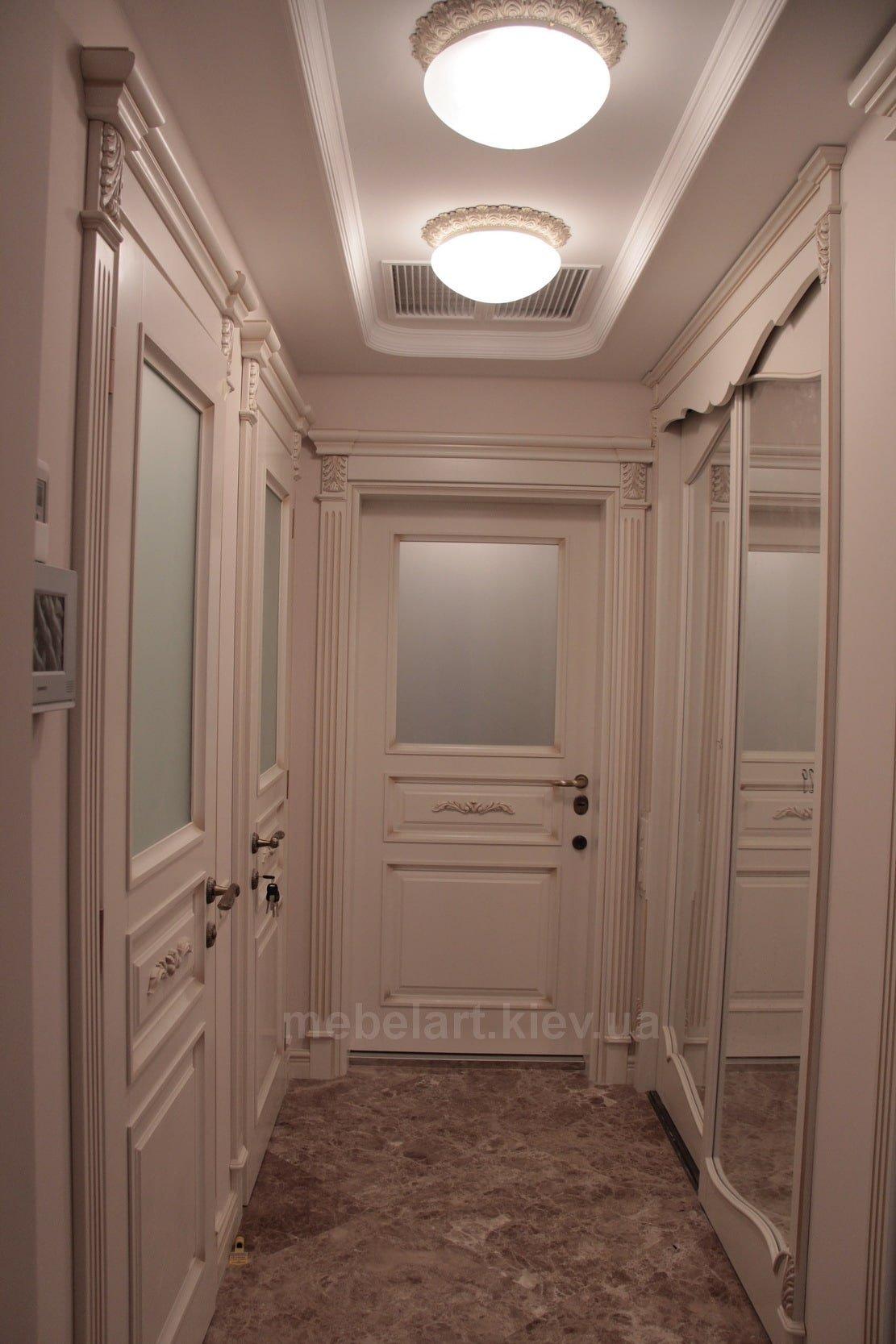 дорогие деревянные двери под заказ