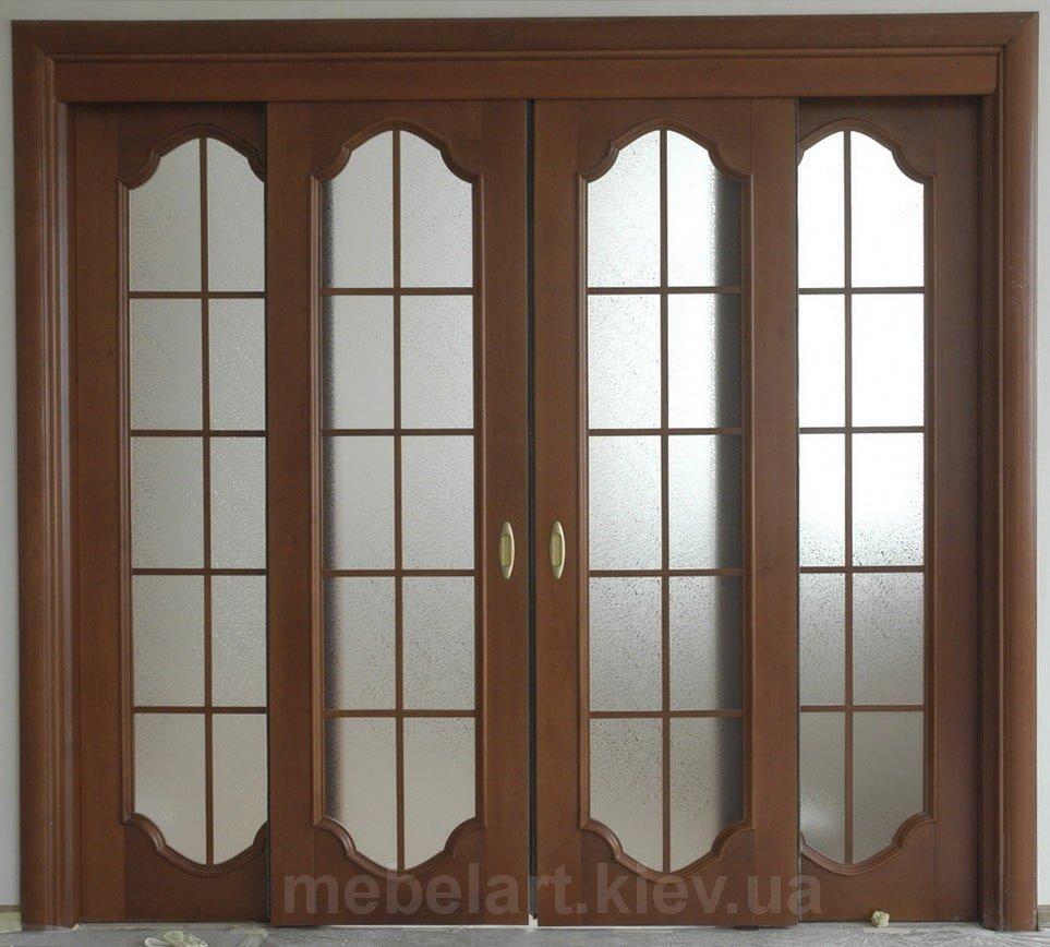 двери из ореха