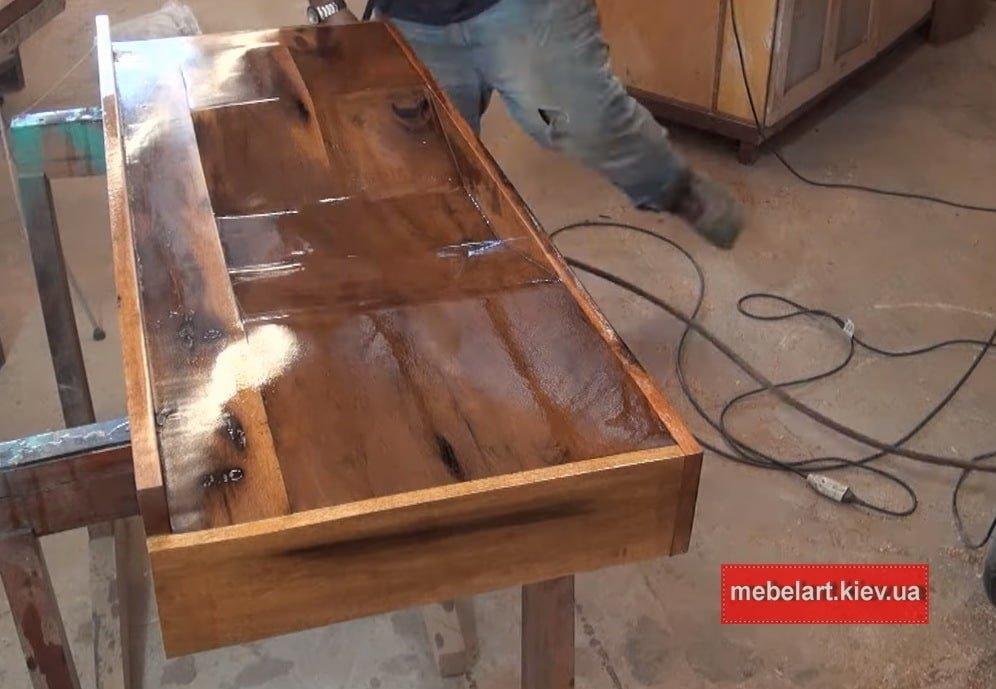 деревянный рукомойник под заказ