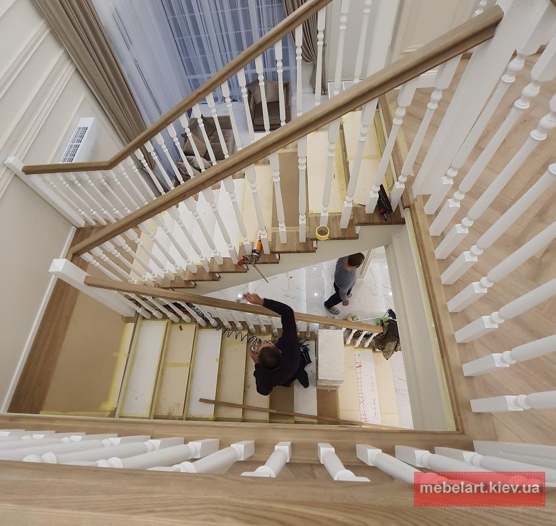 як зробити дерев'яні сходи самому