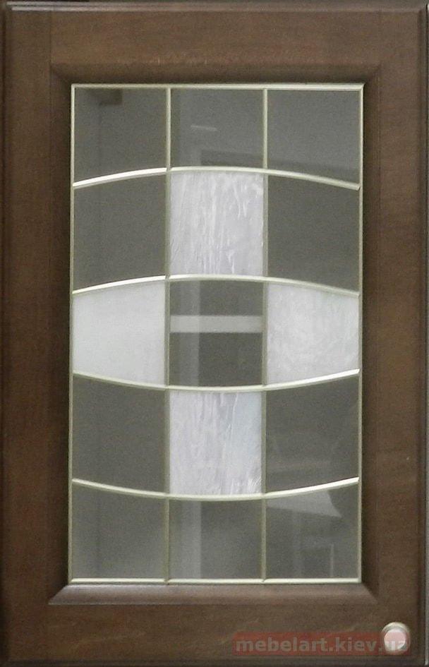фасад мебельный со стеклом
