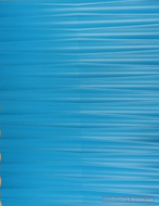 голубой мебельный фасад