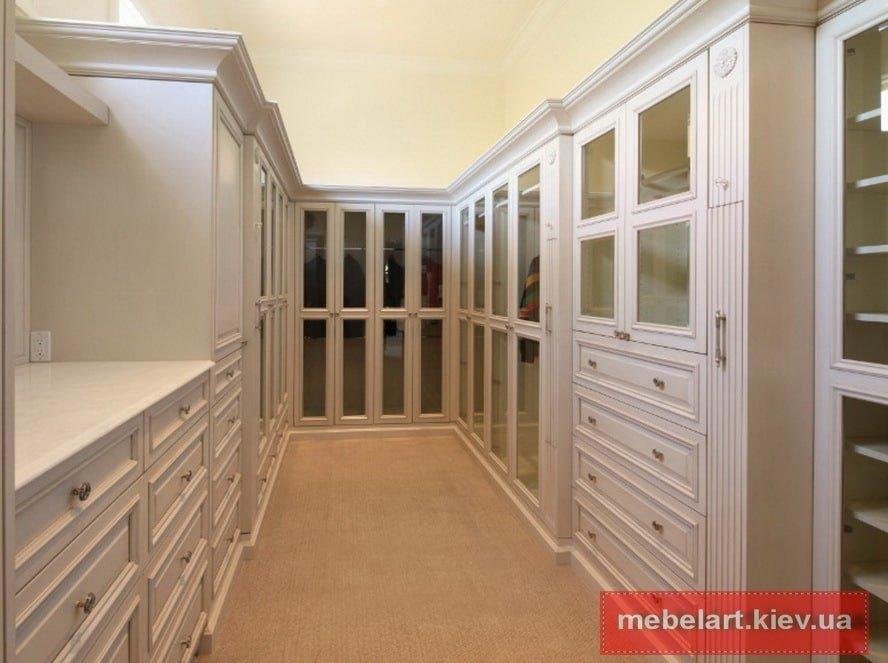 шкаф в гардеробную распашной