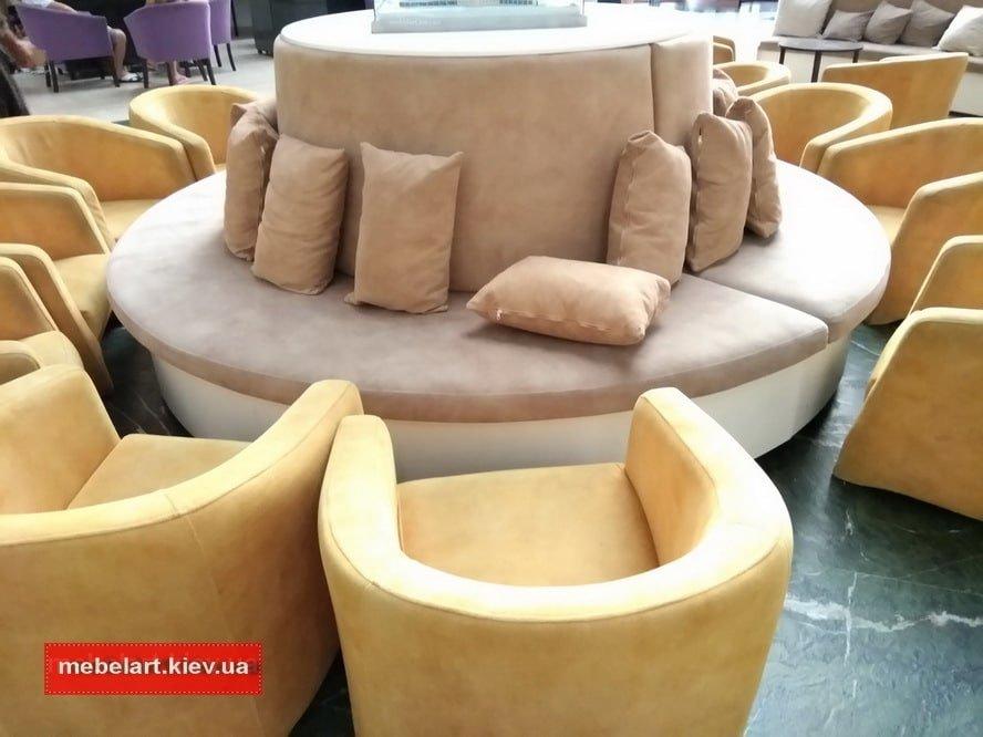 огромный радиусный диван Идеи