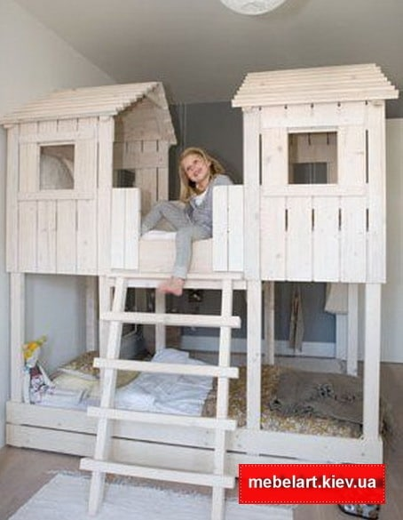 необычная детская мебель