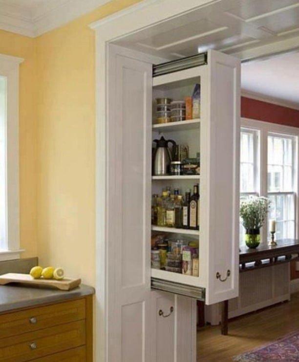 Мебель для кухни с потайными отделениями