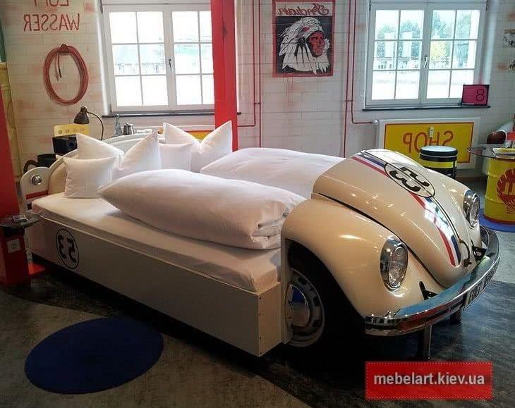 кровать из фольцвагена