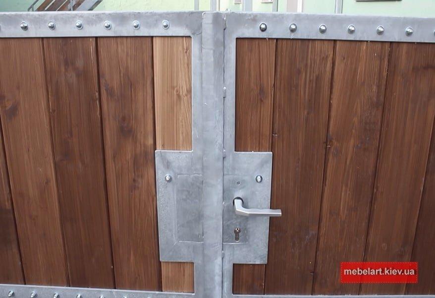 Изготовление и монтаж металлических ворот Киев