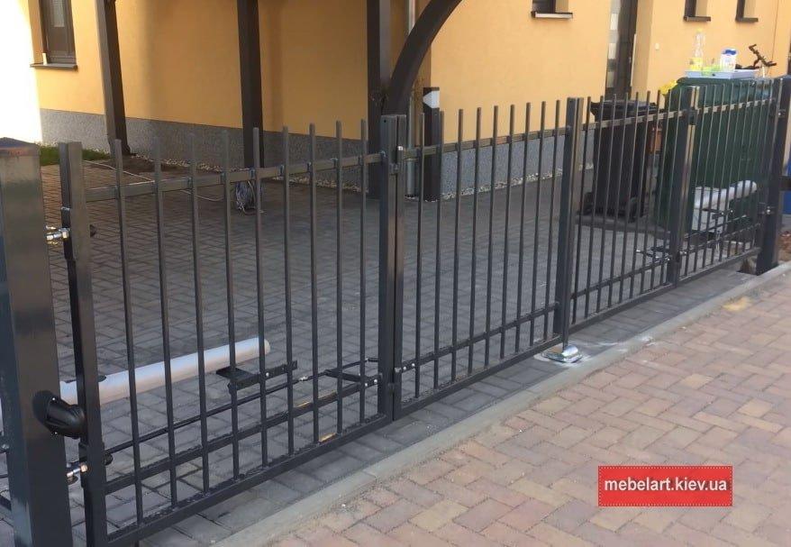 гаражные ворота распашные