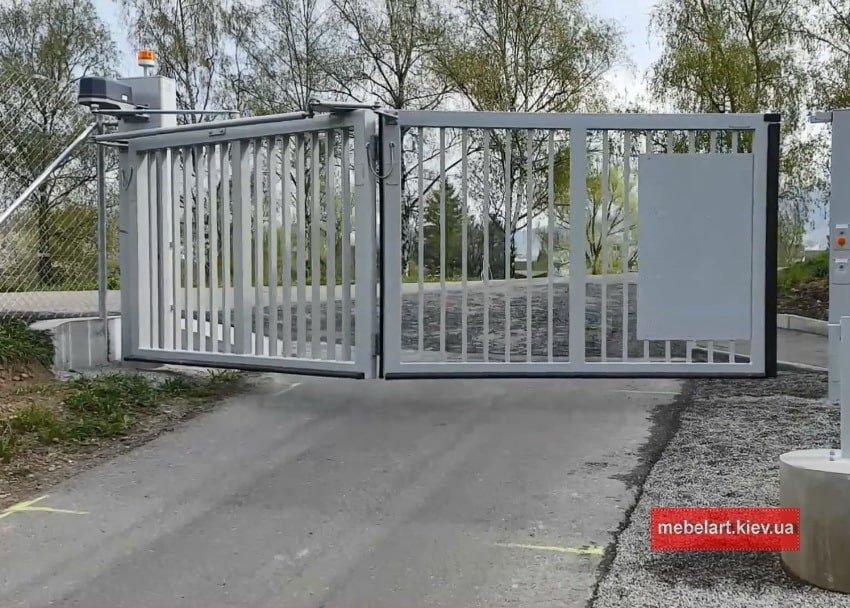 Изготовление ворот на заказ из металла Ирпень