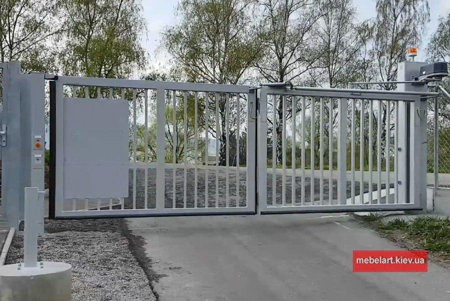 Изготовление ворот на заказ из металла Днепр