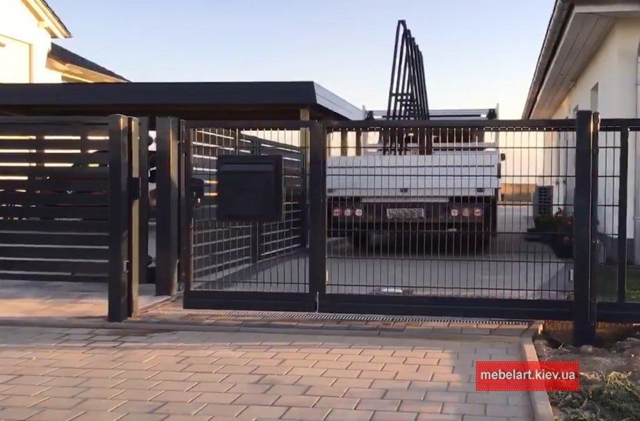 Изготовление ворот на заказ из металла Украина цены