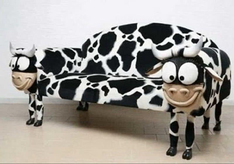 диван корова