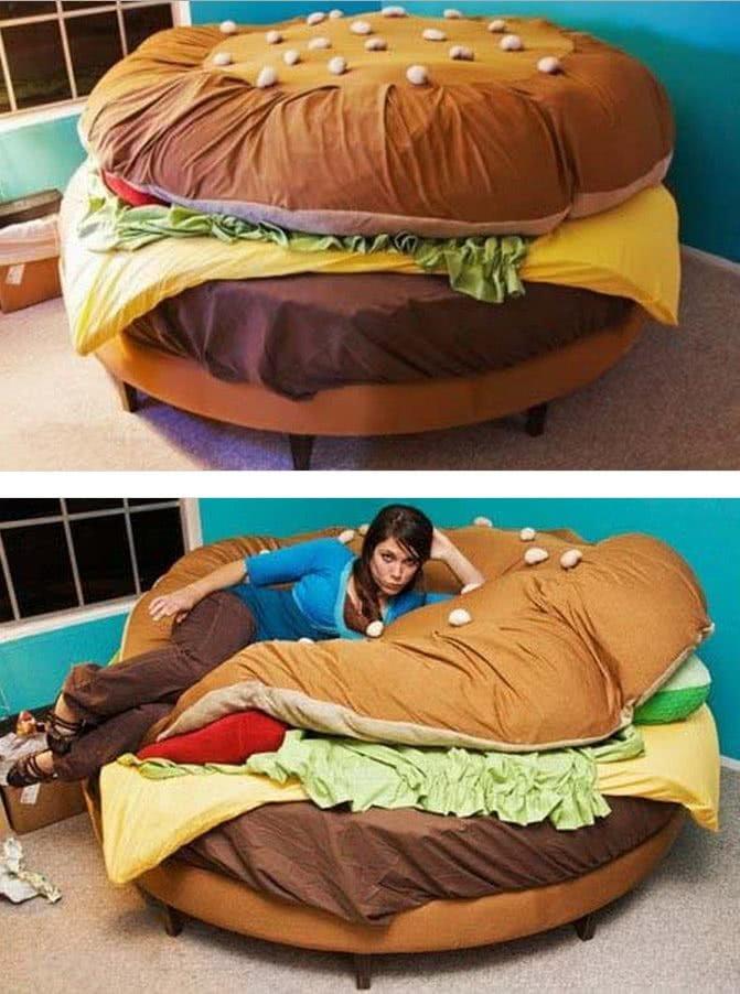 диван гамбургер