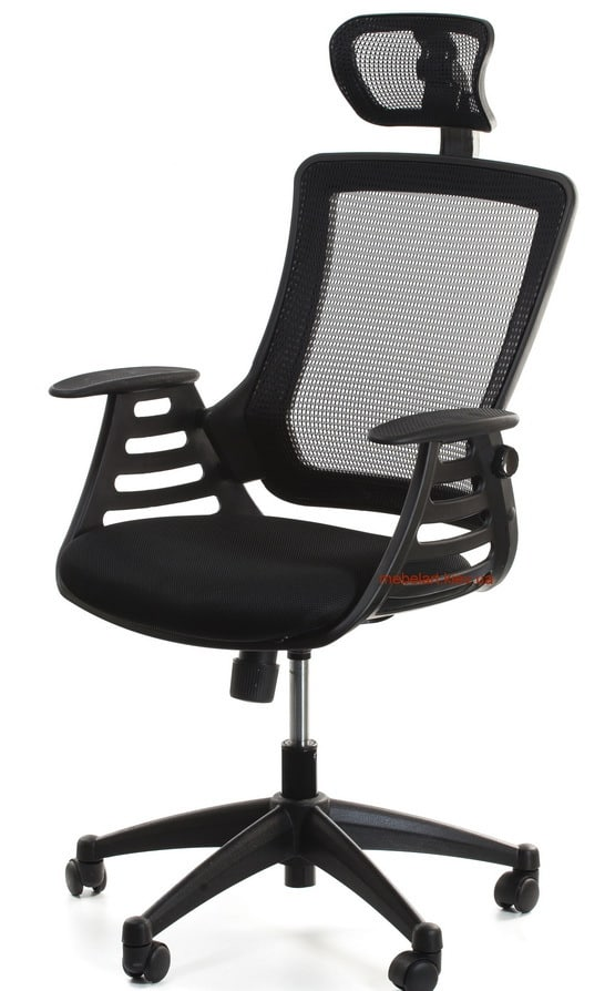 Кресло офисное Office4You MERANO- headrest-Black