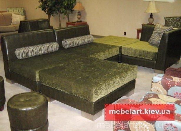 разбрной угловой диван