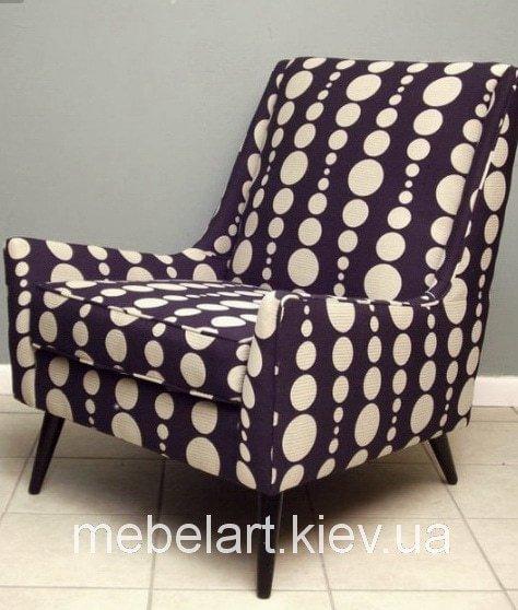 кресло с кружочками