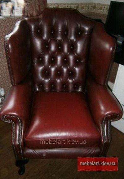 эксклюзивное кожанное кресло