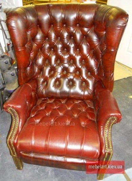 раскошенное кресло