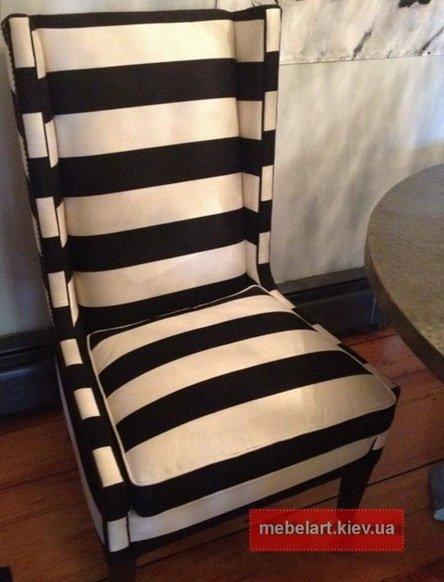 полосатое кресло