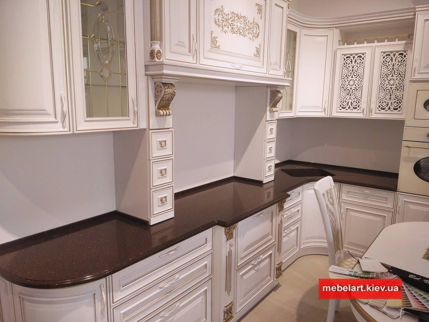 Кухни классические из дерева дизайн