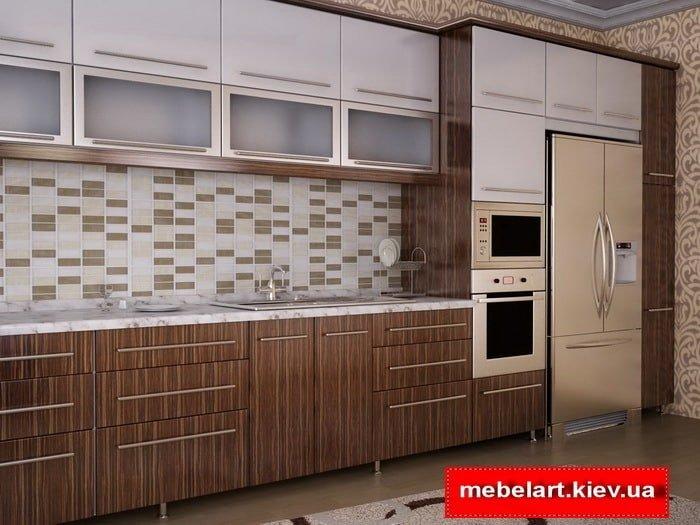 верхние кухонные секции