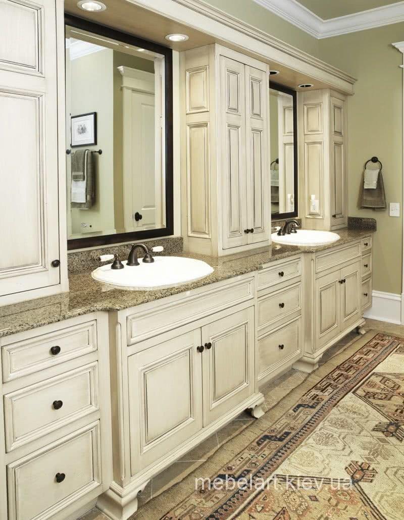 самая красивая мебель в ванную