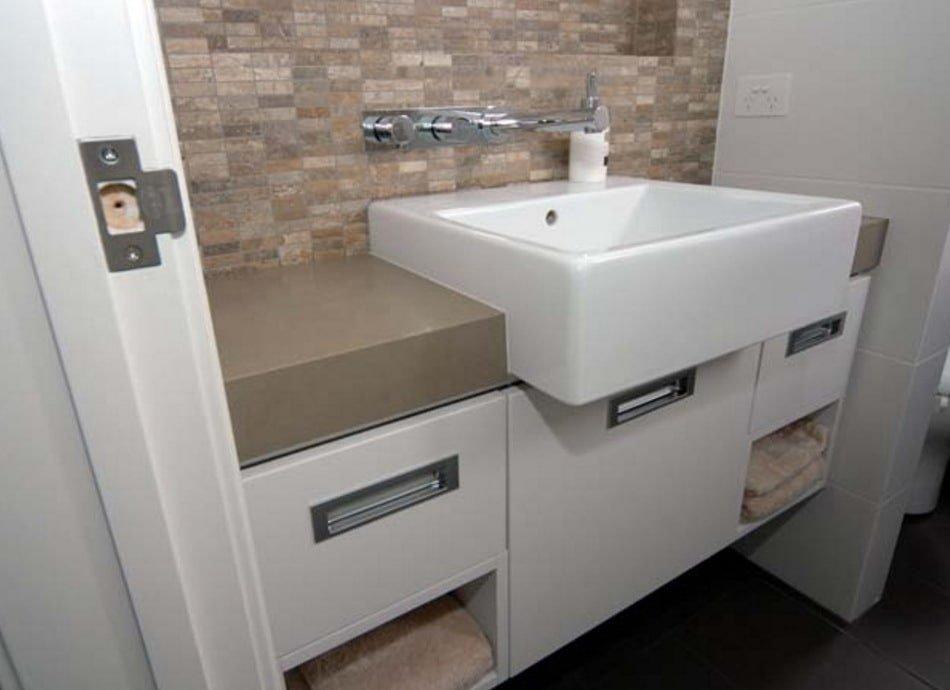 современная мебель в ванную
