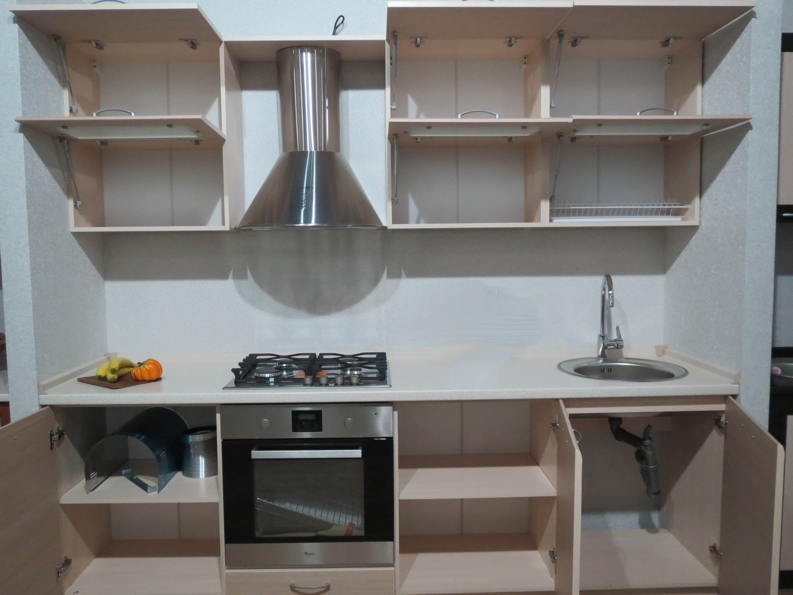 сборка кухни фото своими руками