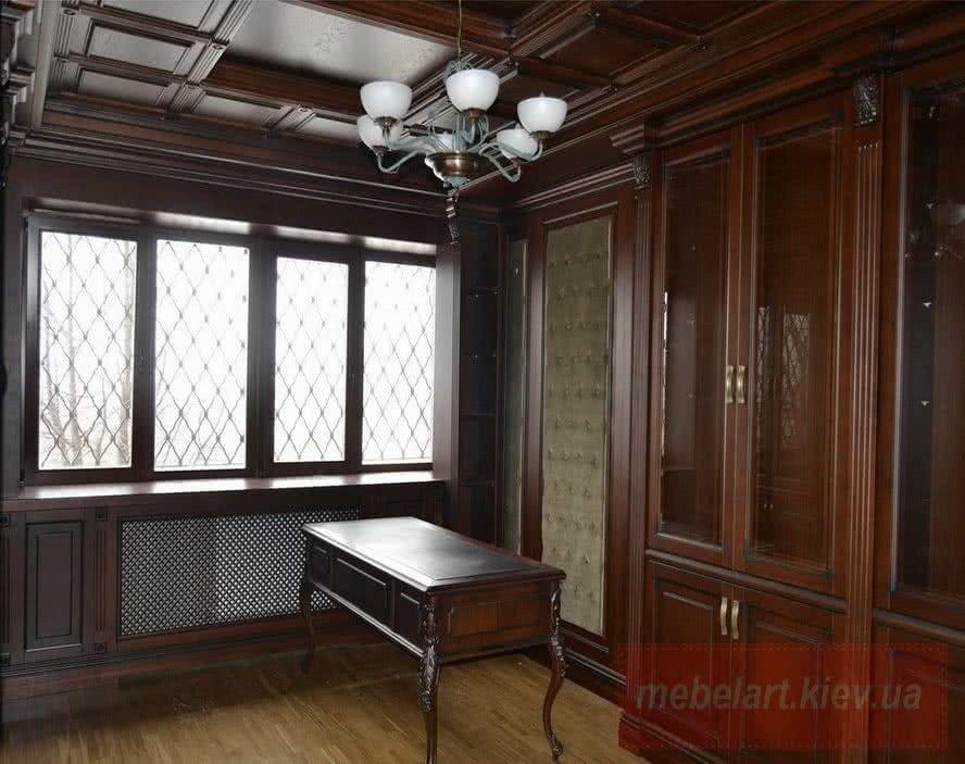 мебель для кабинетов на заказ в киеве
