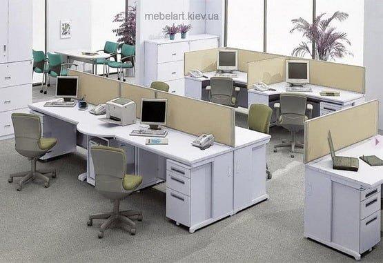 рабочая зона для персонала
