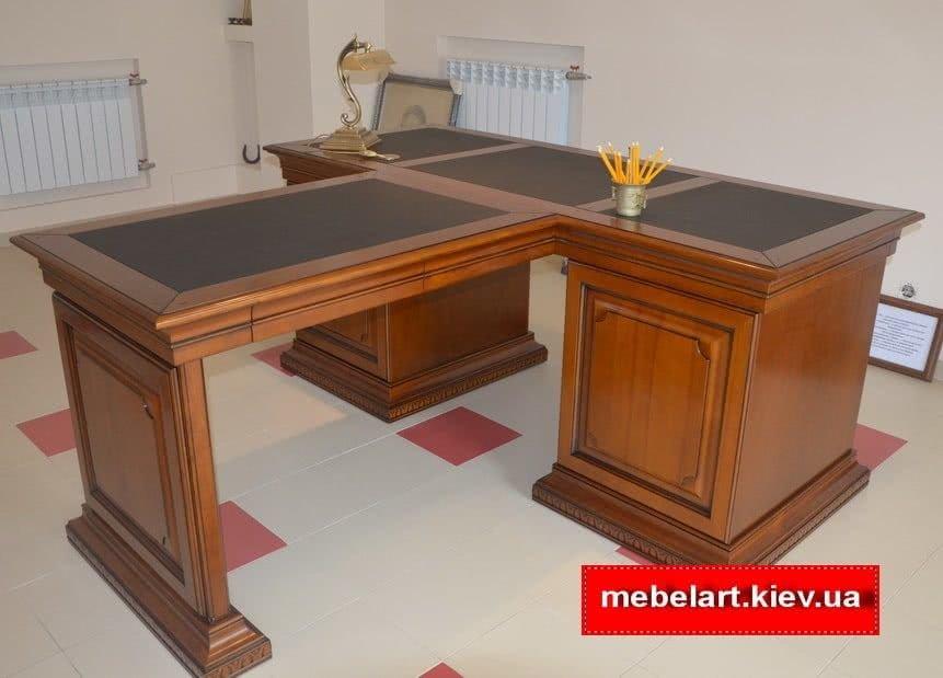 стол для руководителя деревянный