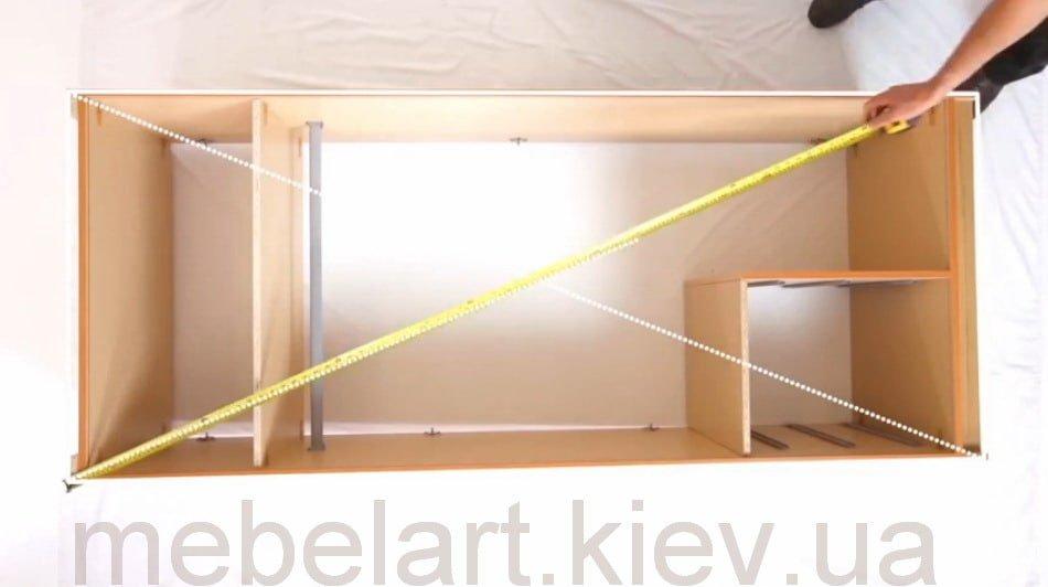 Шкаф мальва схема сборки