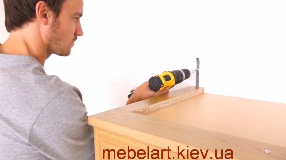 как правильно собрать мебель