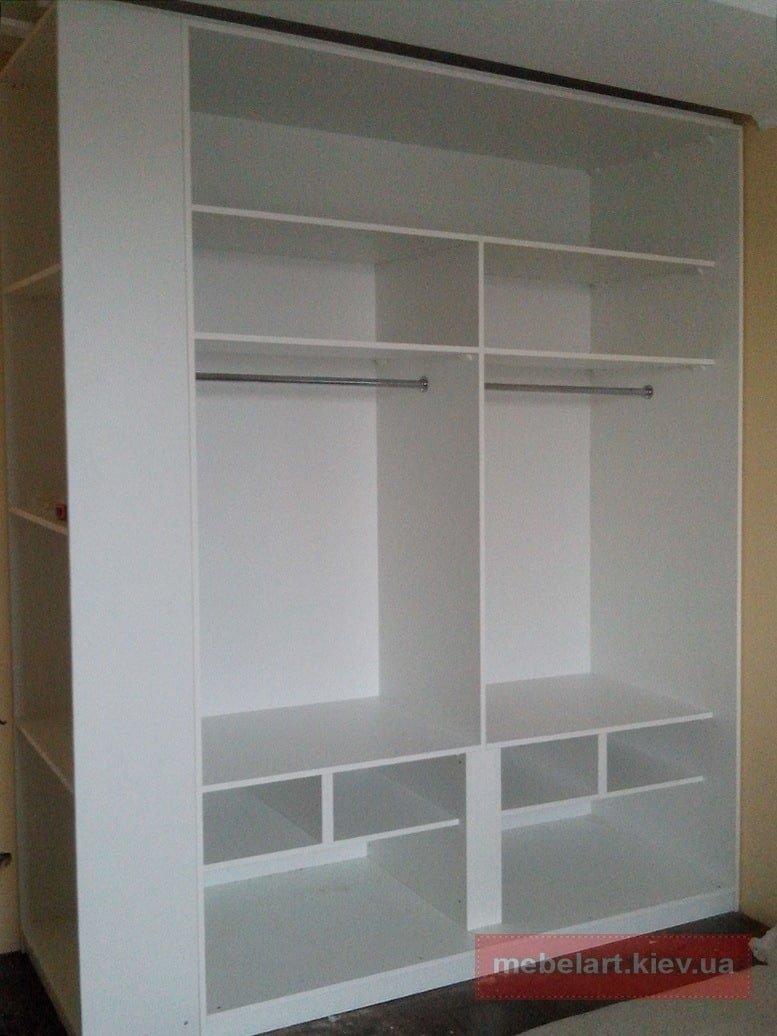 двухстороний шкаф в коридор