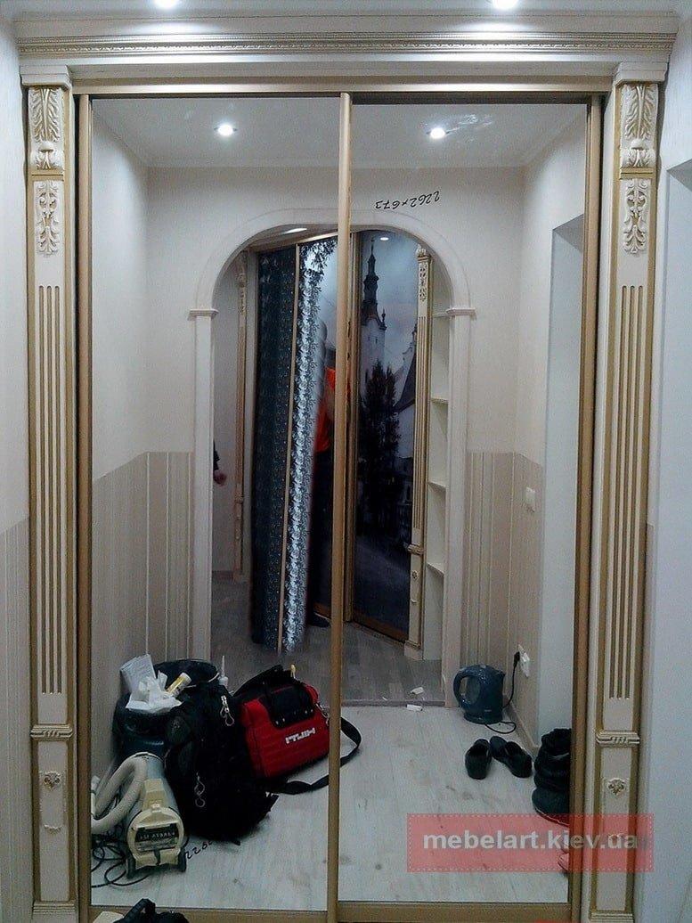 элитный шкаф в коридор