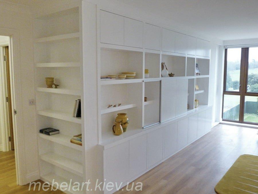 Преимущества встроенной мебели. статья от компании мебеларт .