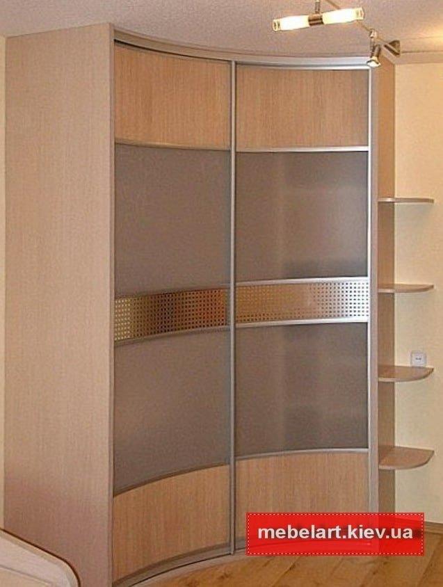 округлый шкаф