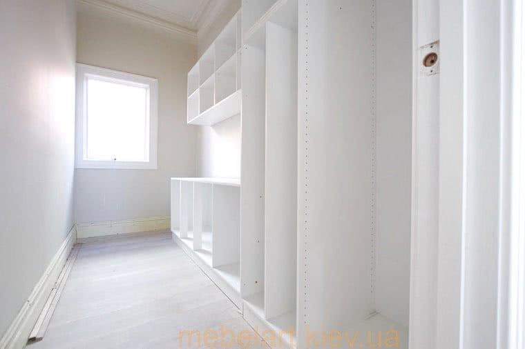 шкаф для гардеробной в спальне
