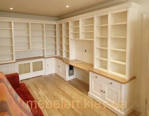 мебель для библиотеки на заказ