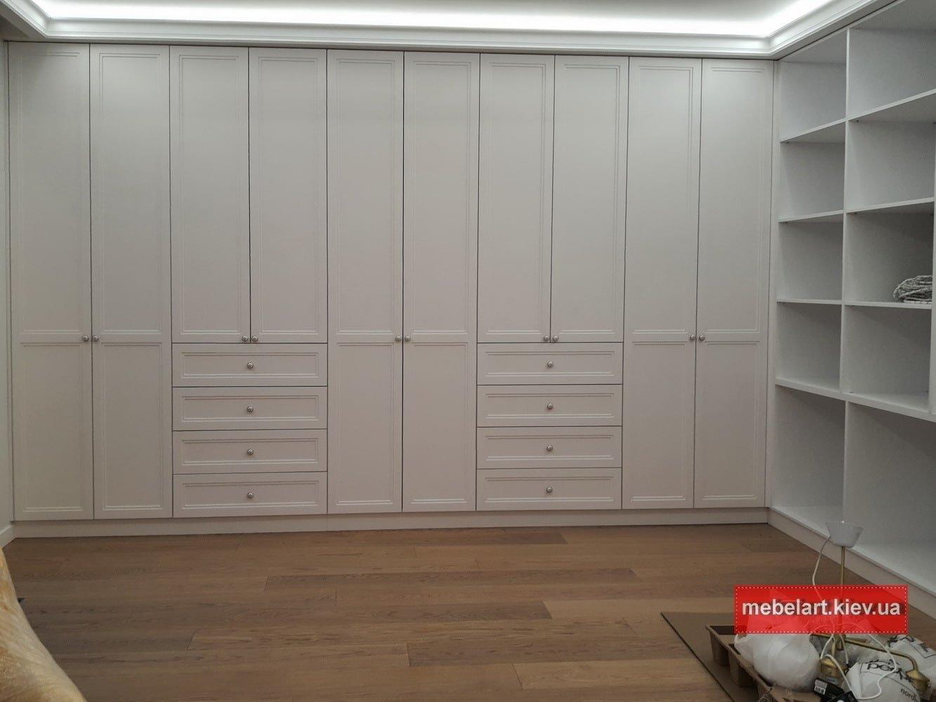 чертежи и проекты мебели в спальню