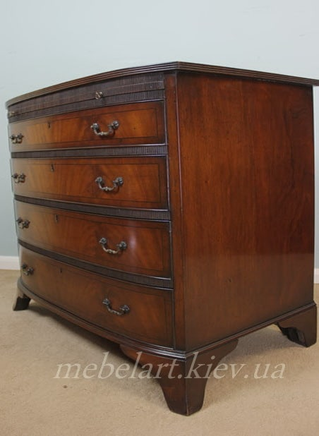 wooden chest of drawers to order