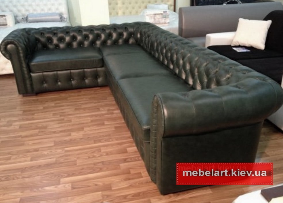 диван в стиле честер