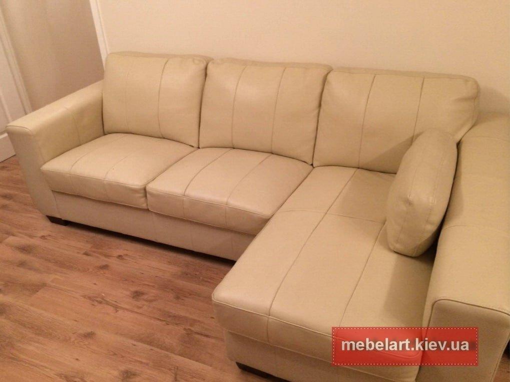 заказать желтый угловой диван