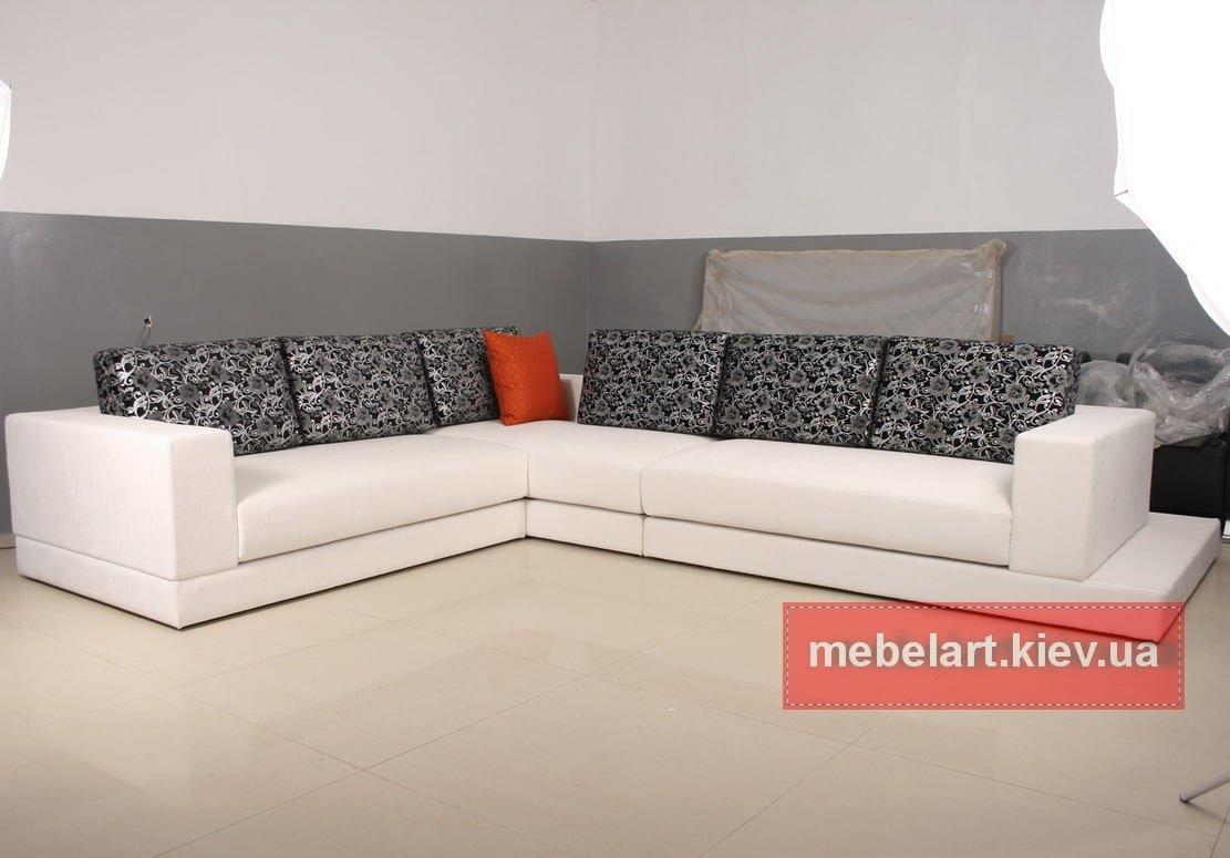 заказать угловой диван для салона