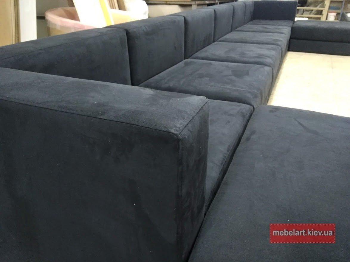дизайн большого модульного дивана