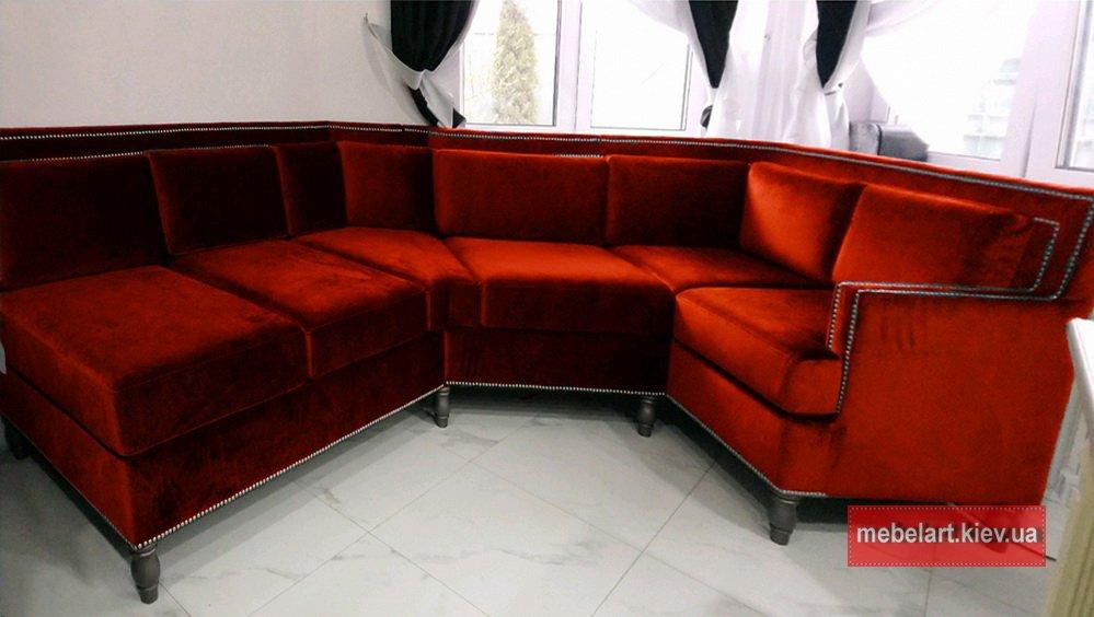 прямой диван на заказ в Одессе